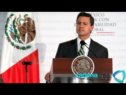 Encabeza Peña Nieto Foro Ciudadano para elaborar el Plan de Desarrollo Nacional