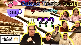 McCafe's cake taste test