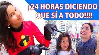 24 HORAS DICIENDO SÍ A TODO | TV Ana Emilia