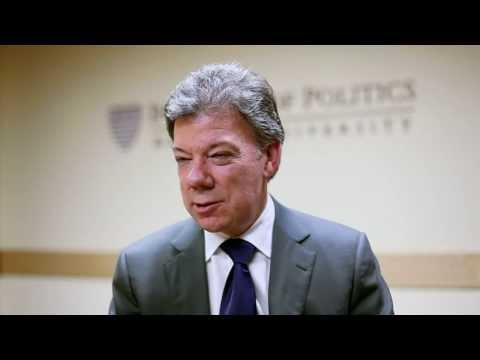 3 with IOP: President of Colombia Juan Manuel Santos