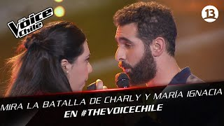 The Voice Chile | Maria Ignacia y Charly - Lady in red