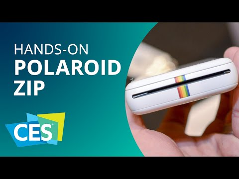 Polaroid ZIP: a impressora caseira e barata para fotos digitais [Hands-on]