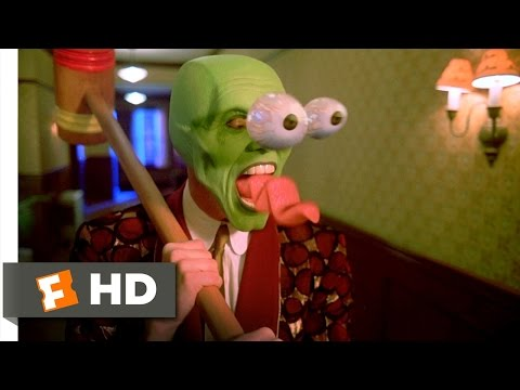 The Mask (1994) - Time To Get A New Clock Scene (1/5) | Movieclips