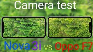 Nova 3i vs Oppo F7 camera Compare. SK in [4K]