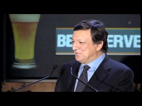 Beer Serves Europe 2011: Jose Manuel Barroso, European Commission President