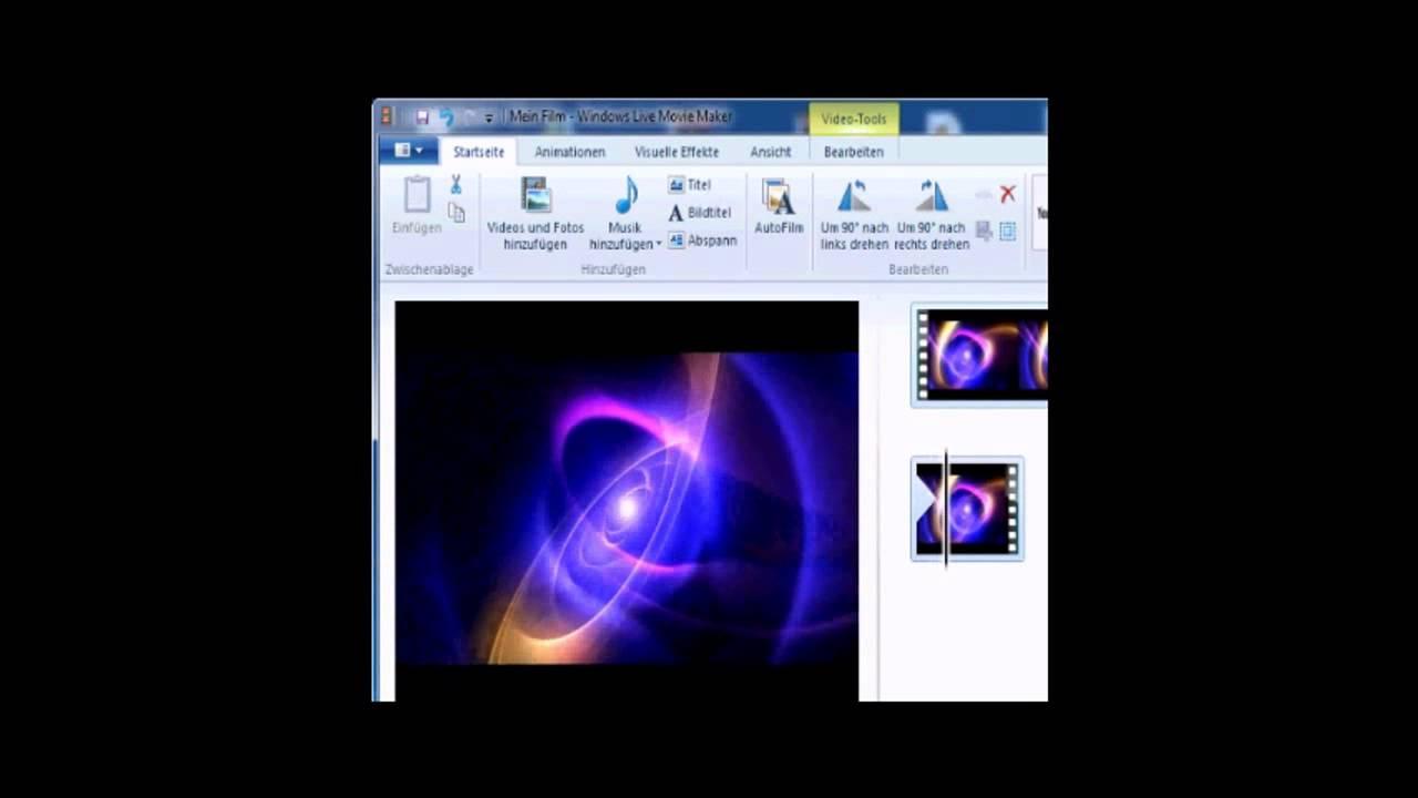 ... Intro erstellen mit Windows Movie Maker Tutorial - YouTube