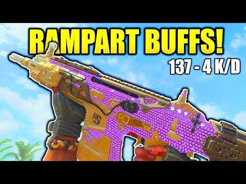 RAMPART BUFF IS INSANE BLACK OPS 4! COD BO4 1.05 PATCH NOTES RAMPART BEST CLASS SETUP BO4 NUKETOWN!
