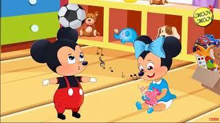 Học Tiếng Anh Qua Phim Hoạt Hình Cho Bé -Tập Trồng Cây- Bé Bắt Chuột