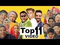 React dan Tebak 11 VIDEO Musik Dengan Penonton Terbanyak | Gen Halilintar