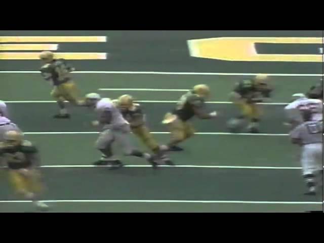 Oregon WR Anthony Jones 34 yard catch vs. WSU 9-07-1991