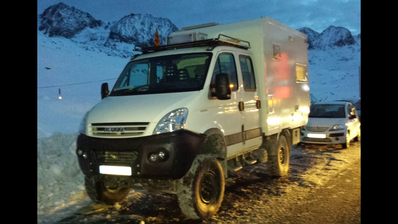 Iveco Daily 4x4 Camper Expedition safari globetrotter ...