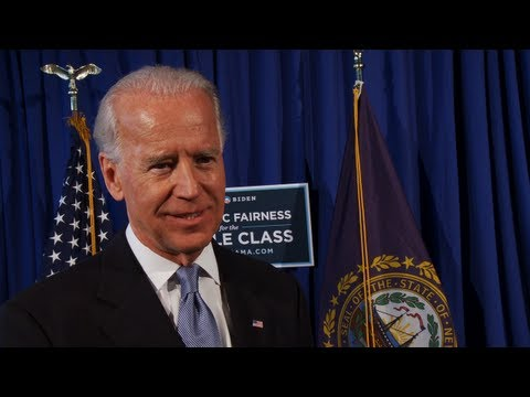 Vice President Joe Biden on Why You Need to Get Involved