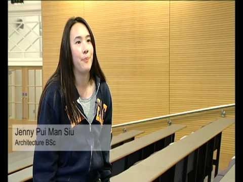 Undergraduate Student Profile: Architecture BSc