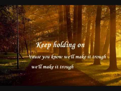 Keep Holding On - Avril Lavigne (Lyrics) - YouTube Avril Lavigne Lyrics