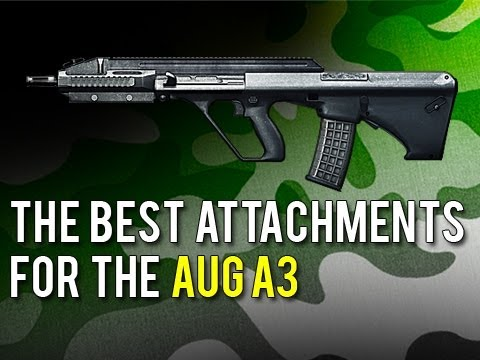 The Best Attachments for the AUG A3 (Close Quarters | Battlefield 3)