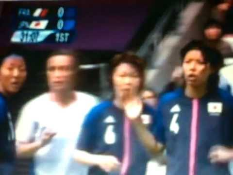 Goal - France vc Japan (0-1) - Olympics London 2012 - Woman's football