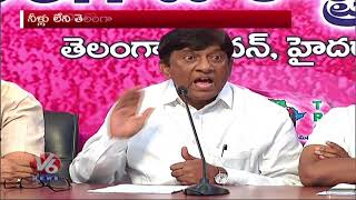 TRS MP Vinod Kumar Fires On Congress Party Over No Confidence Motion