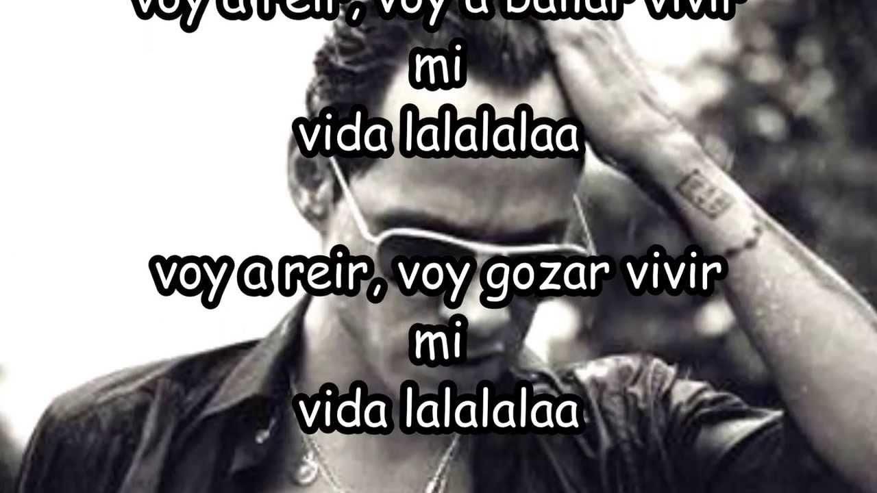 Marc Anthony-vivir la vida (letras) - YouTube