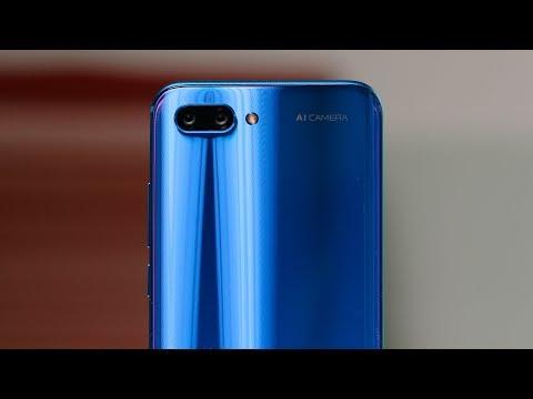 Знакомство с Honor 10 — лучше Huawei P20?