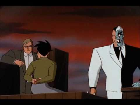 Batman and tim drake vs. Two face
