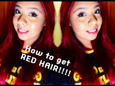 HOW I: Refresh My Red ( Root Touchup) + About My Red Hair