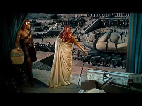 Cecil B. Demille's The Ten Commandments video