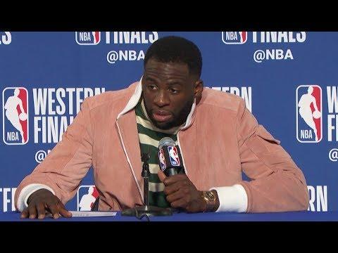 Draymond Green Postgame Interview - Game 3 | Rockets vs Warriors | 2018 NBA West Finals