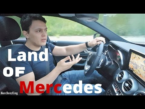 Mercedes C Class 2016 LONG ROADTRIP AMG Review Part 2 Albania Drive C200 Through Europe