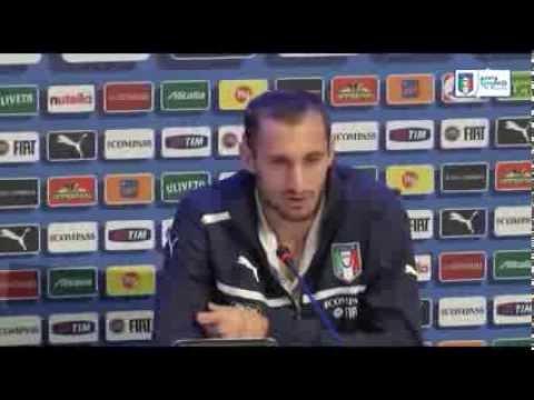 """Chiellini: """"Presi troppi gol, ma nelle partite che contano..."""" - 12 Ottobre 2013"""