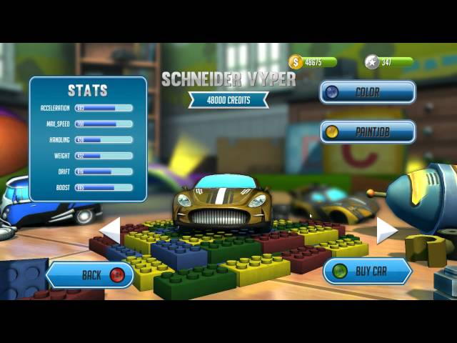 Руководство запуска: Super Toy Cars по сети