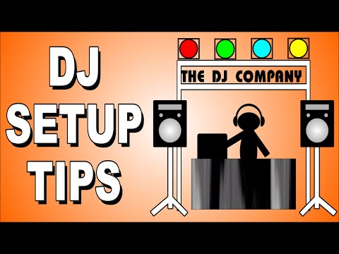 How To DJ - Mobile DJ Equipment Set-up For Beginners