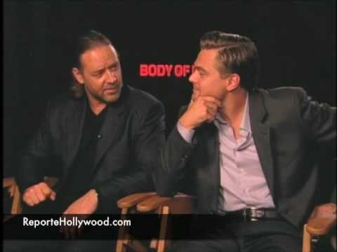 Leonardo DiCaprio and Russell Crowe interview