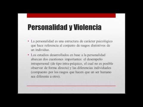 Violencia y Personalidad en El Salvador