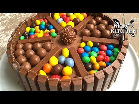 Chocolate Candy Covered Cake Chocolate Candy Cake Video