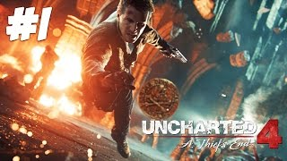 THE ULTIMATE THIEF!! | Uncharted 4 - Part 1
