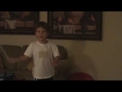 3 year old Jonathan conducting to Paganini's Violin Concerto Music Videos