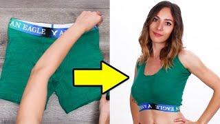 Super Cool DIY Clothing Hacks and More   Girls DIY Life Hacks by Blossom