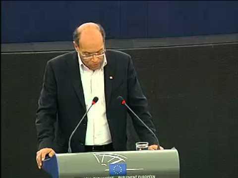 Discours de Moncef Marzouki devant le parlement Européen