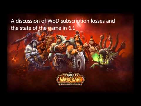 WoD subscription losses in 6.1