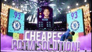 FIFA 19 POTM EDEN HAZARD SBC CHEAPEST SOLUTION! | SQUAD BUILDING CHALLENGE | FIFA 19 ULTIMATE TEAM