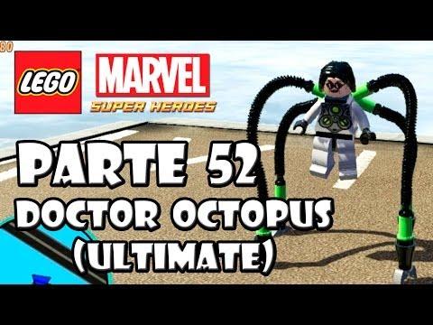 LEGO Marvel Super Heroes Guía - Desbloqueo de Personajes - Parte 52 - Doctor Octopus Ultimate