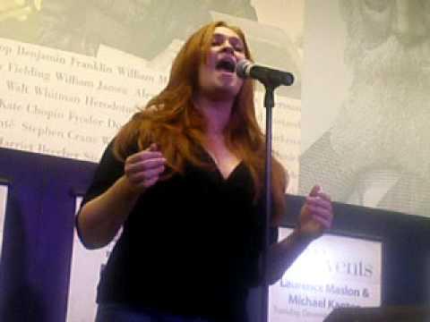 Katie Thompson singing Scott Alans Say Goodbye