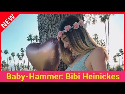 Baby-Hammer: Bibi Heinickes Secret war ihre Schwangerschaft!