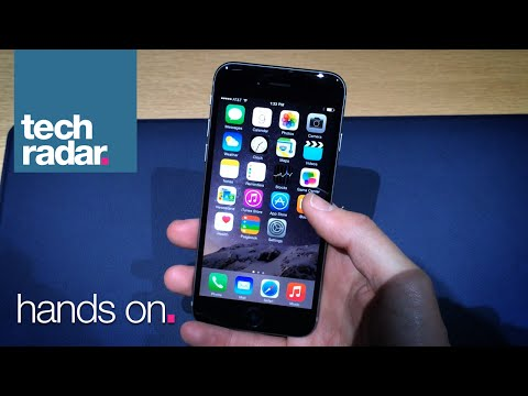 Apple iPhone 6 Hands-on: Filmed @ Apple's Special Event