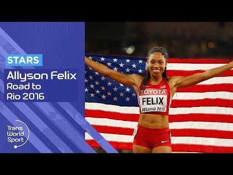 Allyson Felix 2016 | Road to Rio | Trans World Sport