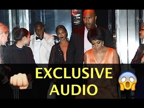 Solange Knowles Physically Attacks Jay-Z in Elevator - EXCLUSIVE AUDIO