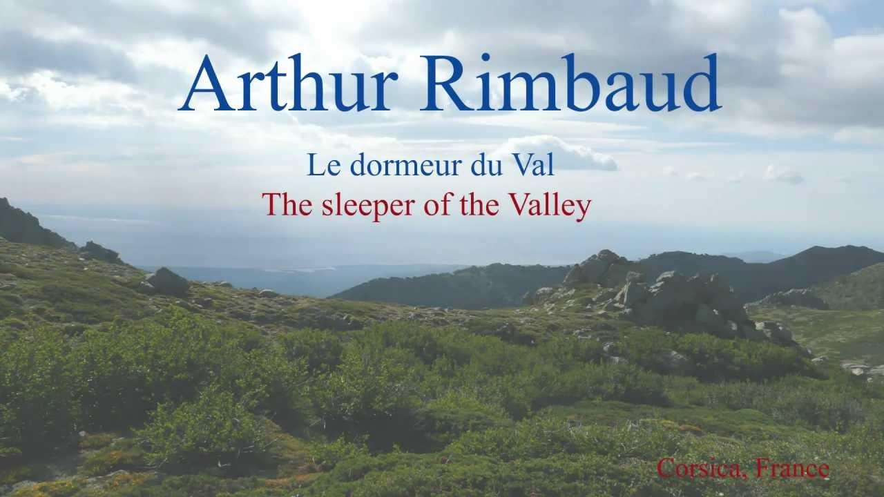 French poem le dormeur du val by arthur rimbaud slow - Dormeur du val rimbaud ...