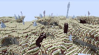 If Biome Size Is NEGATIVE in Minecraft!