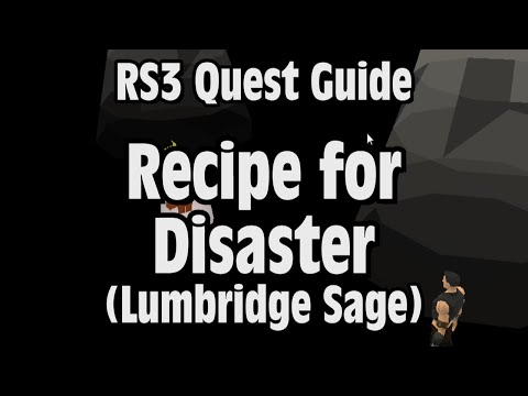 RS3: Recipe for Disaster (Lumbridge Sage) Quest Guide – RuneScape