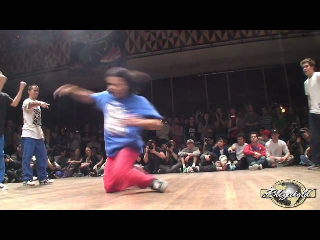 DYNAMIC ROCKERS vs HUSTLE KIDZ (FLOOR WARS 2010) WWW.BBOYWORLD.COM